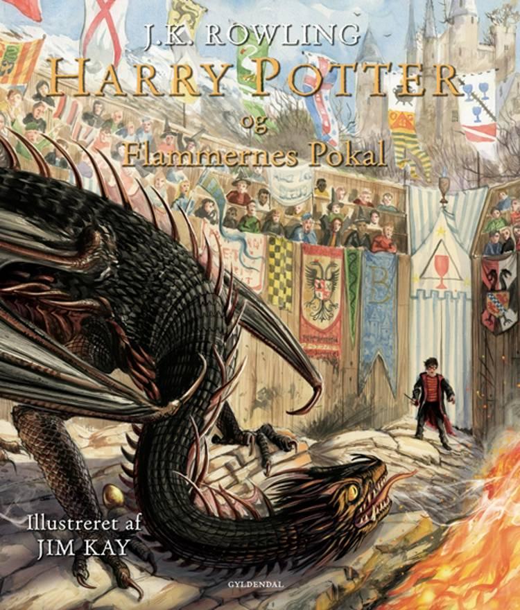 Harry Potter og Flammernes Pokal (illustreret) af J.K. Rowling
