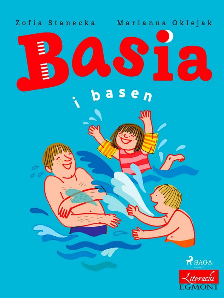 Basia i basen af Zofia Stanecka