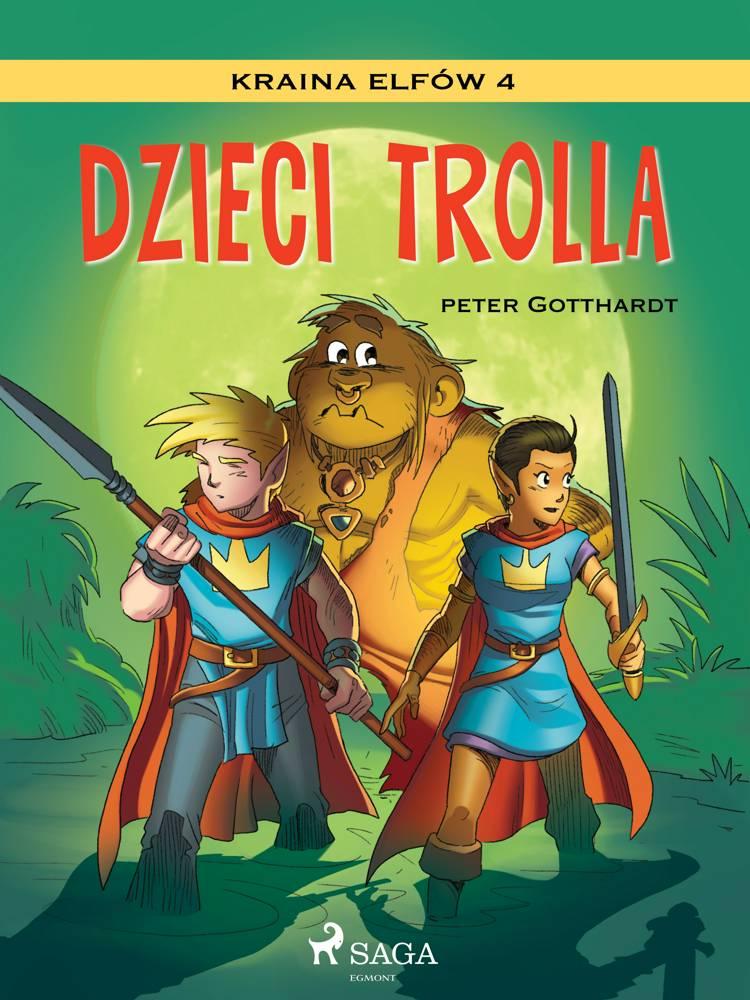 Kraina Elfów 4 - Dzieci trolla af Peter Gotthardt