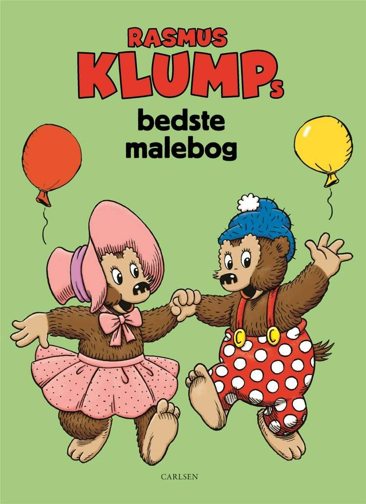 Rasmus Klumps bedste malebog (kolli 6) af Vilhelm Hansen og Carla Hansen