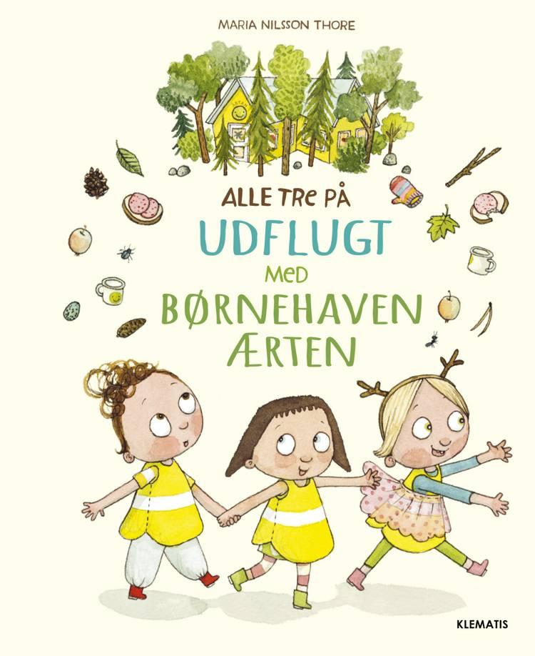 Alle tre på udflugt med børnehaven Ærten af Maria Nilsson Thore