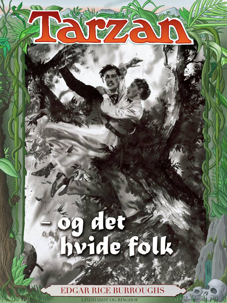 Tarzan og det hvide folk af Edgar Rice Burroughs
