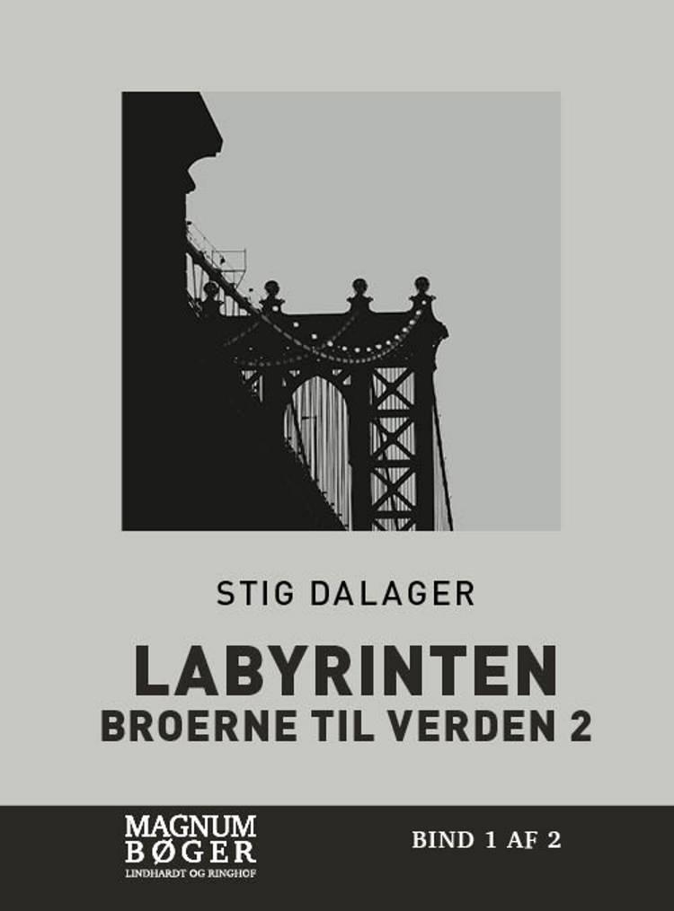 Labyrinten (Storskrift) af Stig Dalager