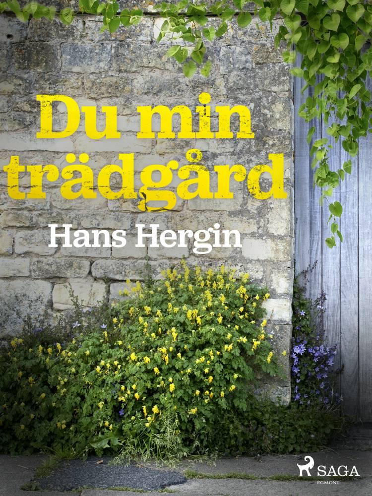 Du min trädgård af Hans Hergin
