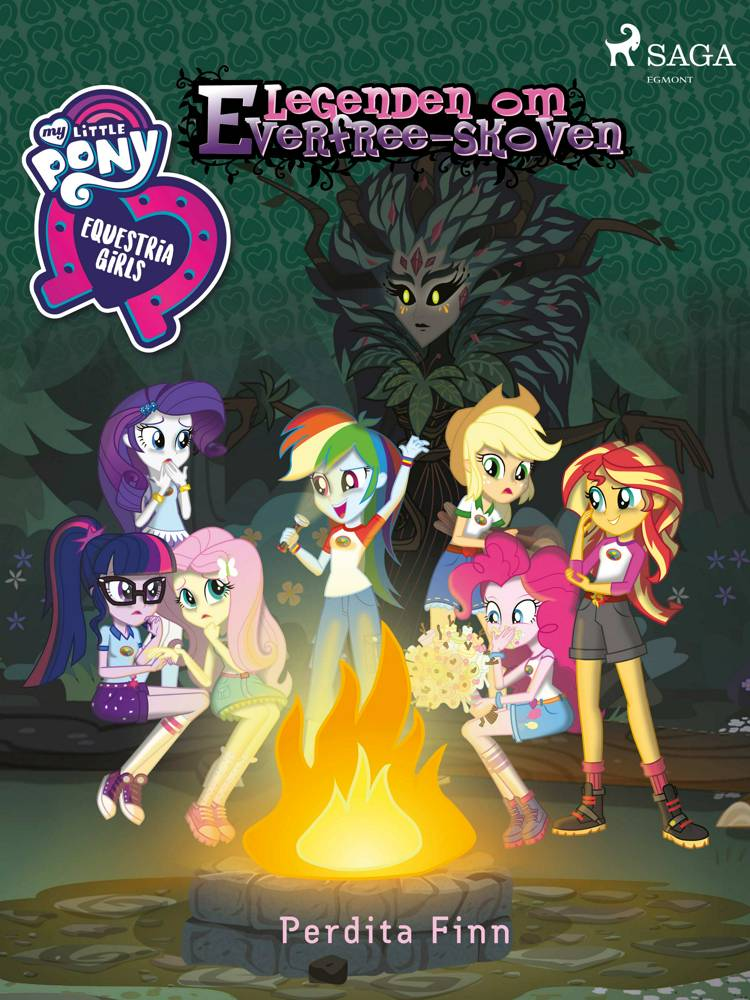 My Little Pony - Equestria Girls - Legenden om Everfree-skoven af Perdita Finn
