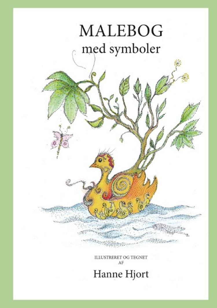 Malebog med symboler af Hanne Hjort