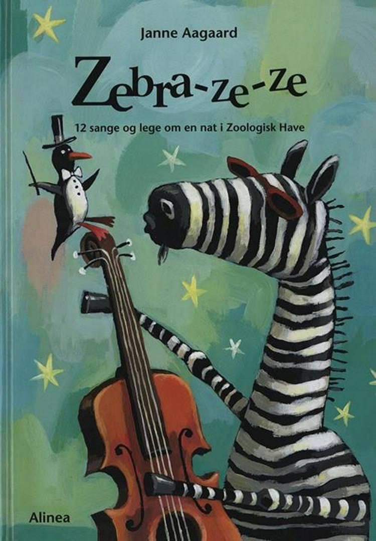 Zebra-ze-ze af Janne Aagaard