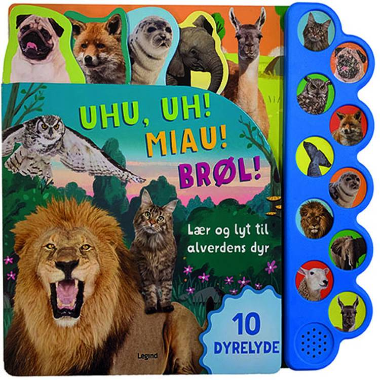 Lær og lyt til alverdens dyr