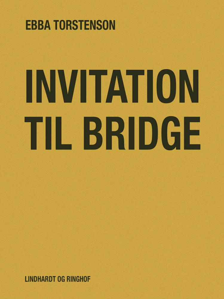 Invitation til bridge af Ebba Torstenson