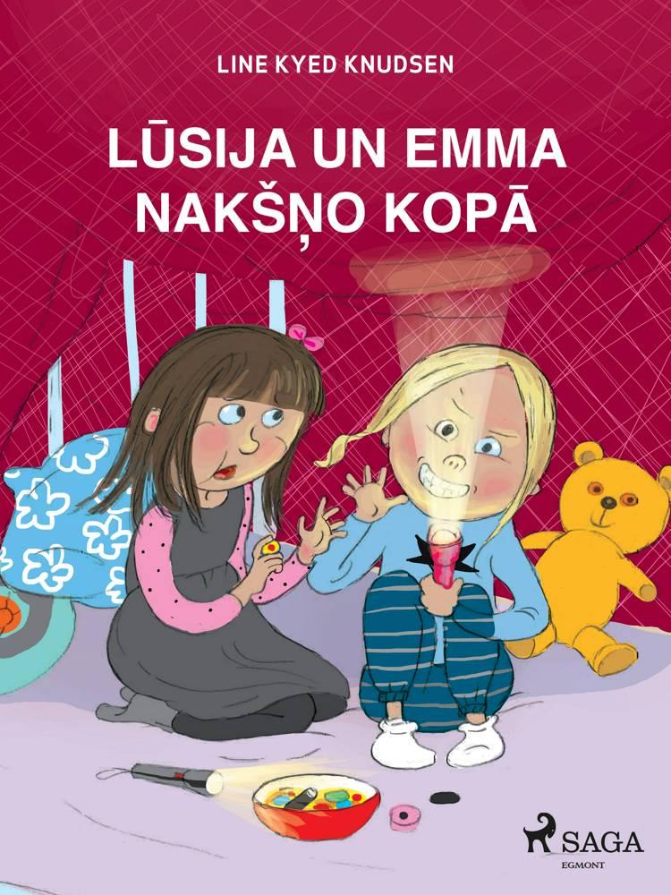 Lūsija un Emma nakšņo kopā af Line Kyed Knudsen