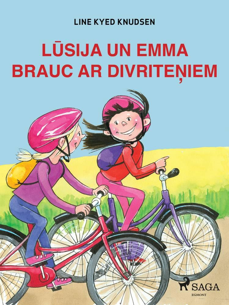 Lūsija un Emma brauc ar divriteņiem af Line Kyed Knudsen