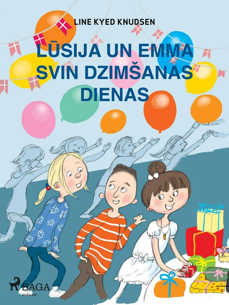 Lūsija un Emma svin dzimšanas dienas af Line Kyed Knudsen