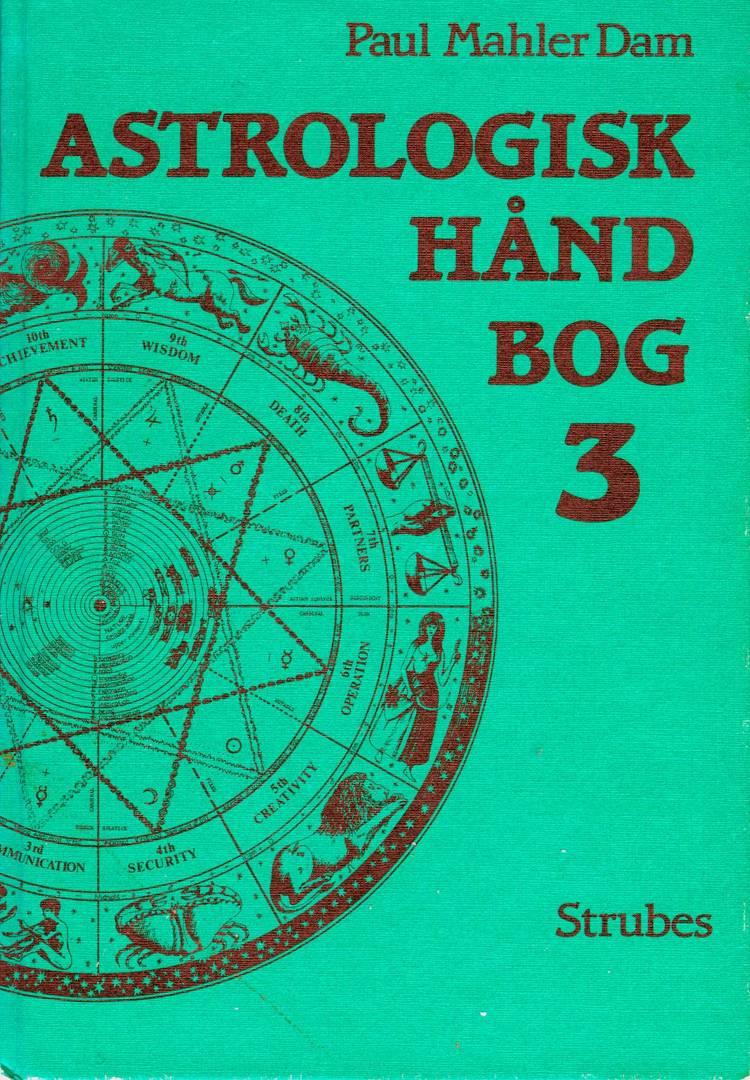 Astrologisk Håndbog 3 af Paul Mahler Dam