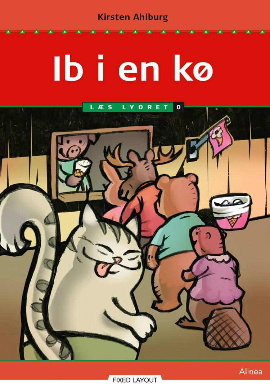 Ib i en kø, Læs Lydret 0 af Kirsten Ahlburg