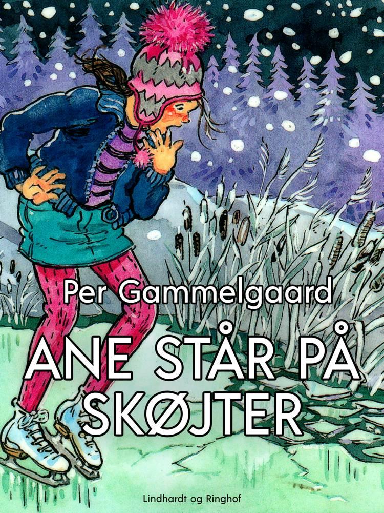 Ane står på skøjter af Per Gammelgaard