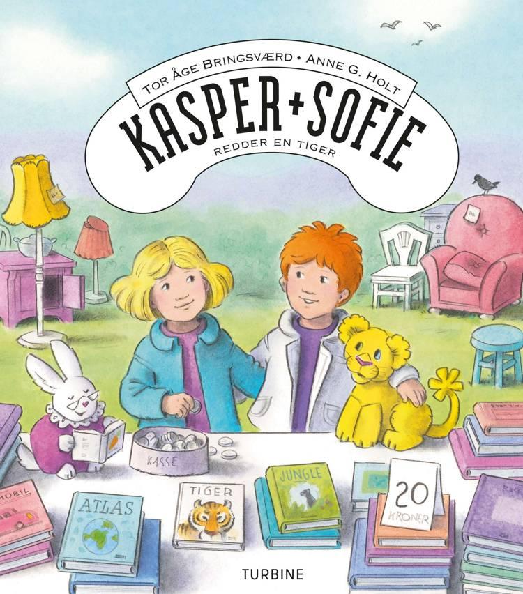 Kasper og Sofie redder en tiger af Tor Åge Bringsværd