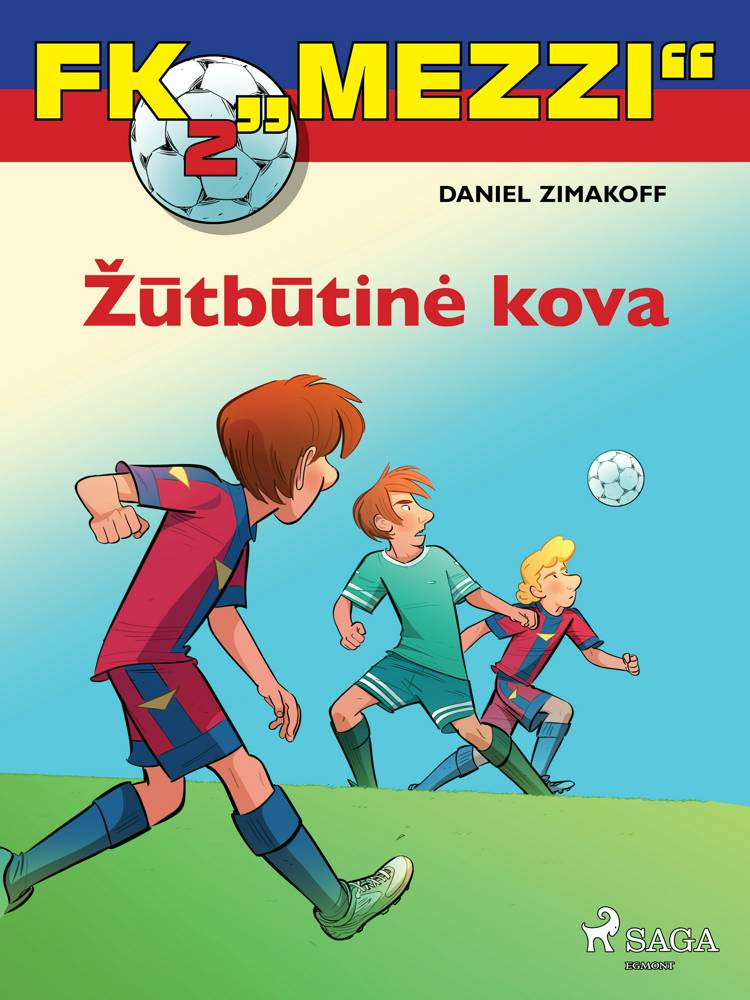 "FK ""Mezzi'' 2. Žūtbūtinė kova af Daniel Zimakoff"