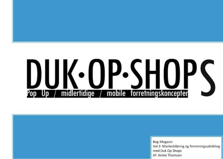 Duk Op Shops vol 3.1 af Anine Thomsen