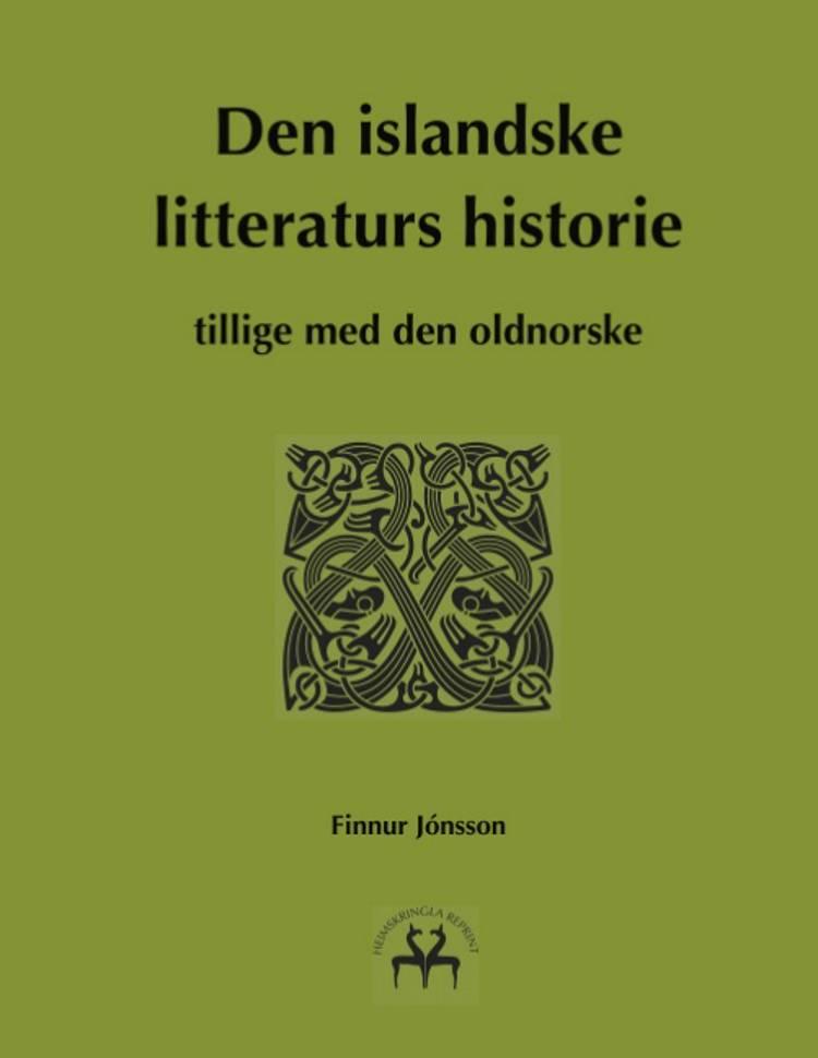 Den islandske litteraturs historie af Finnur Jónsson og Heimskringla Reprint