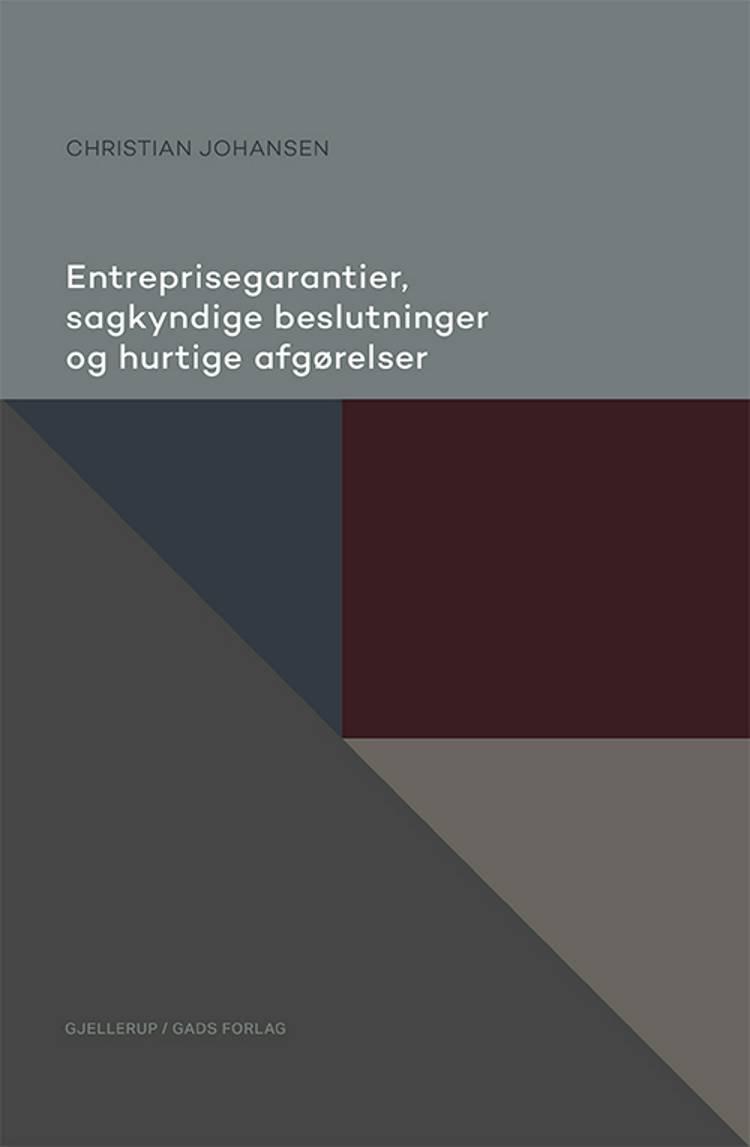 Entreprisegarantier, sagkyndige beslutninger og hurtige afgørelser af Christian Johansen