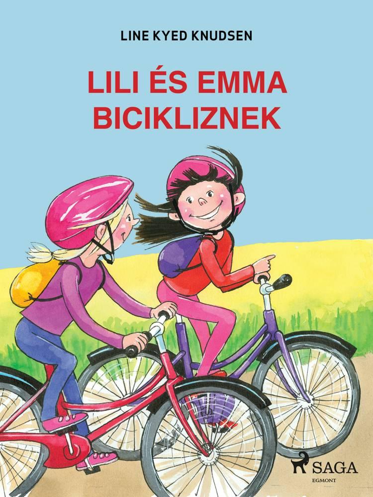 Lili és Emma bicikliznek af Line Kyed Knudsen