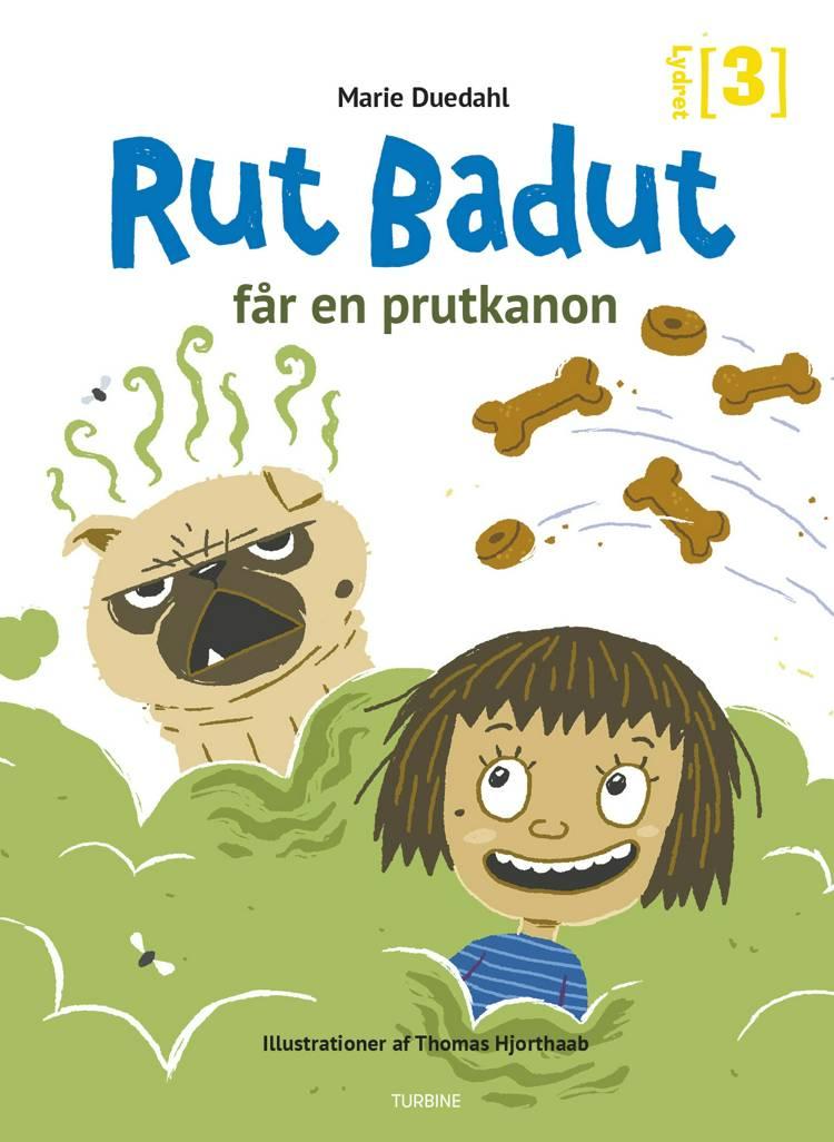 Rut Badut får en prutkanon af Marie Duedahl