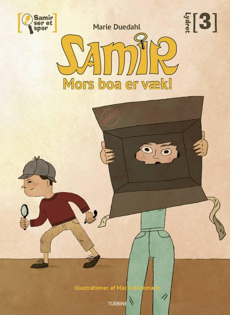 Samir ser et spor - Mors boa er væk! af Marie Duedahl