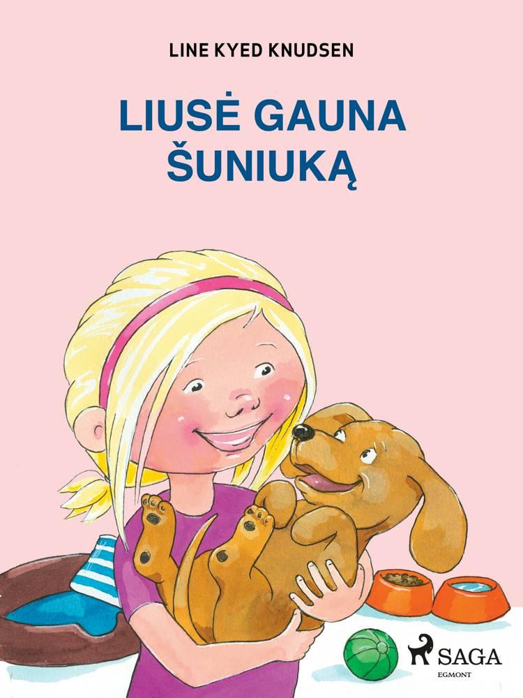Liusė gauna šuniuką af Line Kyed Knudsen