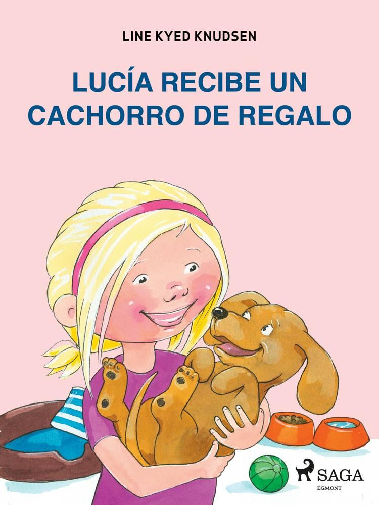 Lucía recibe un cachorro de regalo af Line Kyed Knudsen