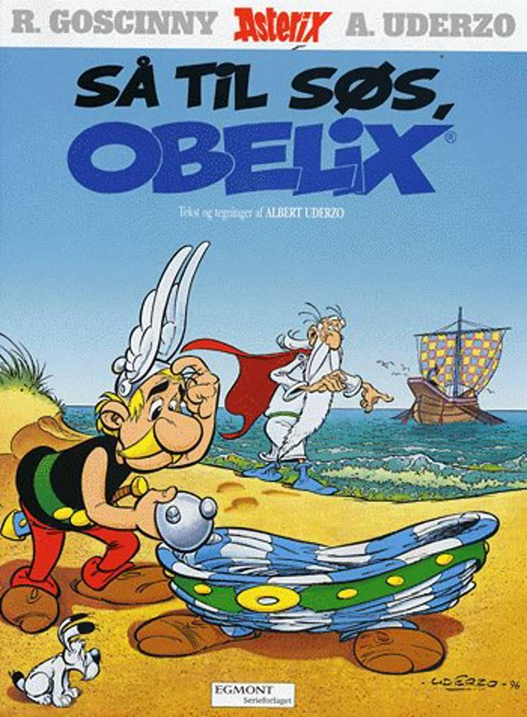 Så til søs, Obelix! af Albert Uderzo