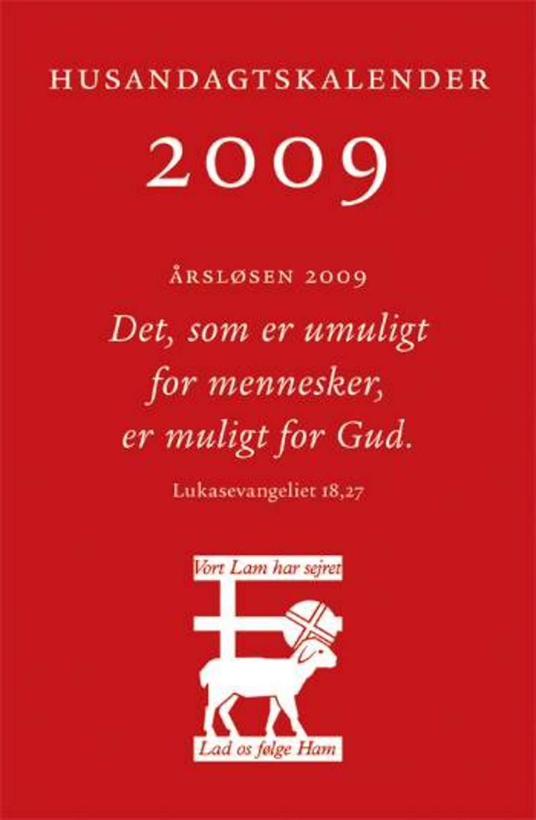 Husandagtskalender 2009