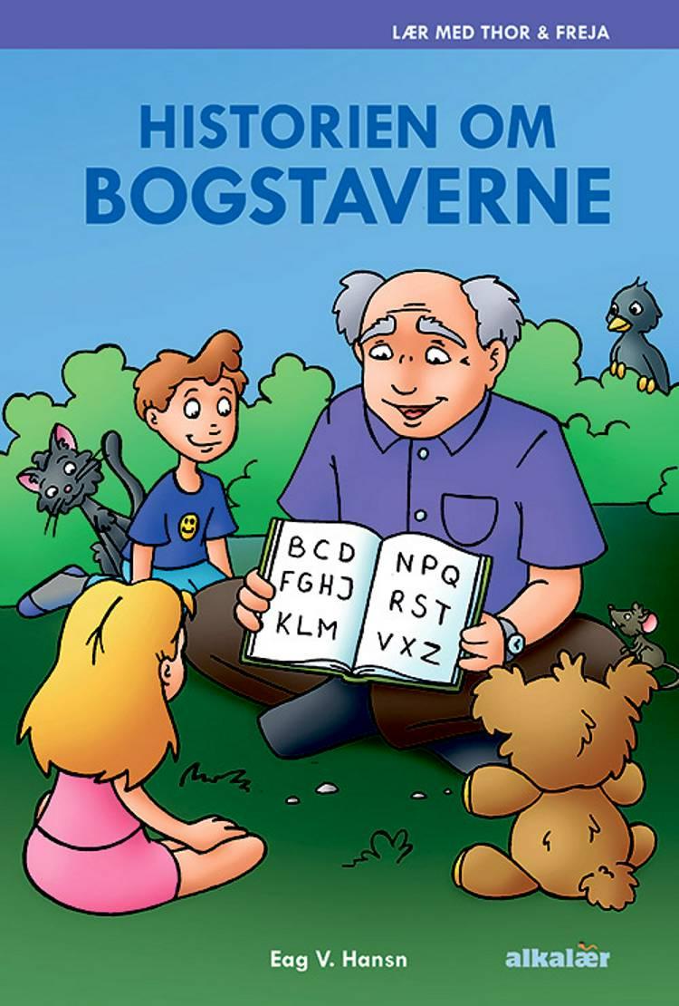 Historien om bogstaverne af Erik Vierø Hansen