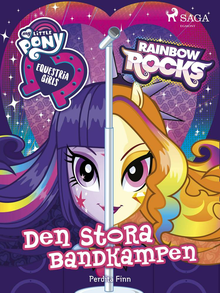 Equestria Girls - Den stora bandkampen af Perdita Finn