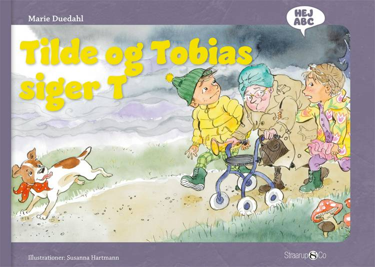Tilde og Tobias siger T af Marie Duedahl