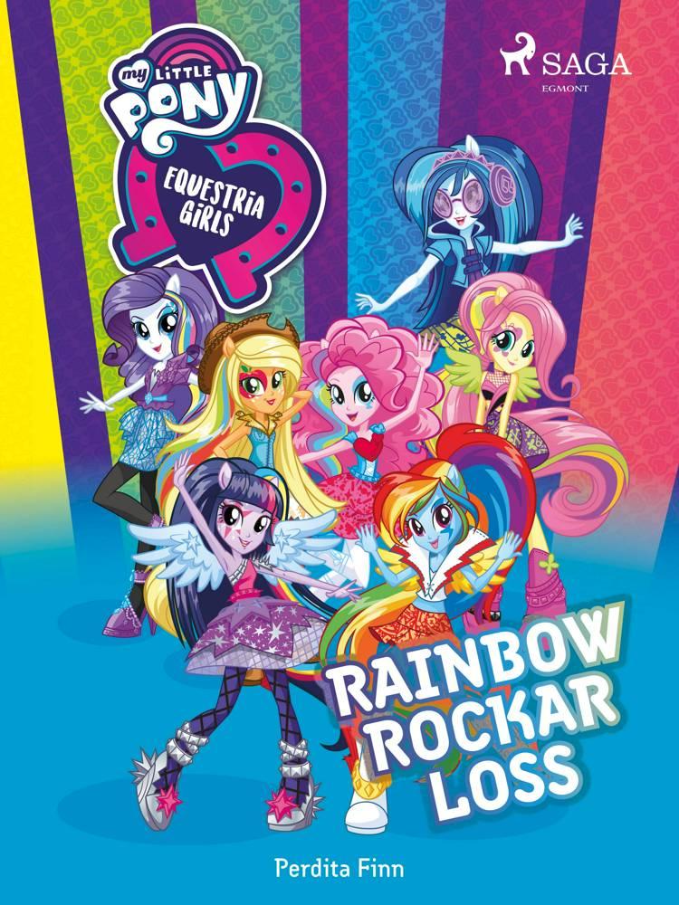 Equestria Girls - Rainbow rockar loss af Perdita Finn