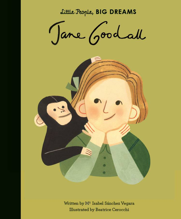 Jane Goodall af Maria Isabel Sanchez Vegara