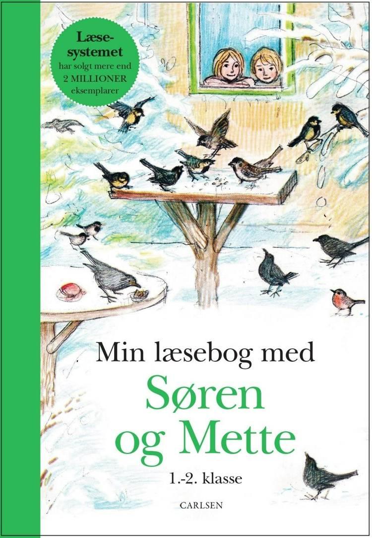 Min læsebog med Søren og Mette 1.-2. klasse af Knud Hermansen og Ejvind Jensen