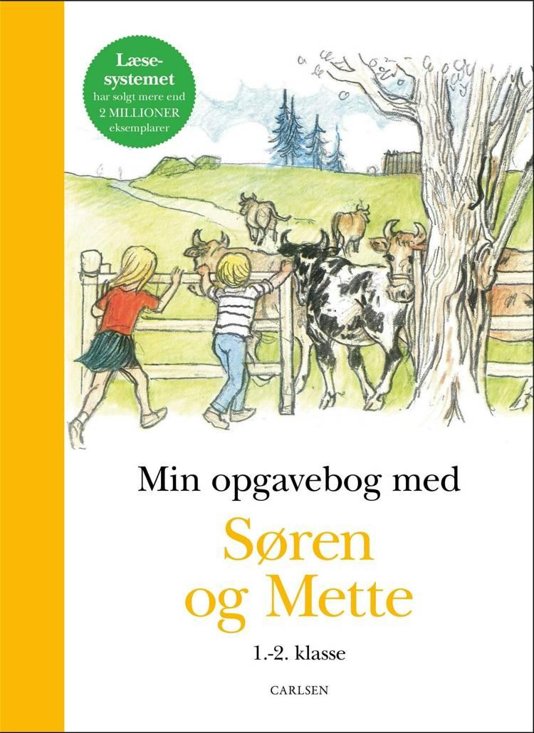 Min opgavebog med Søren og Mette, 1.-2. klasse af Knud Hermansen og Ejvind Jensen