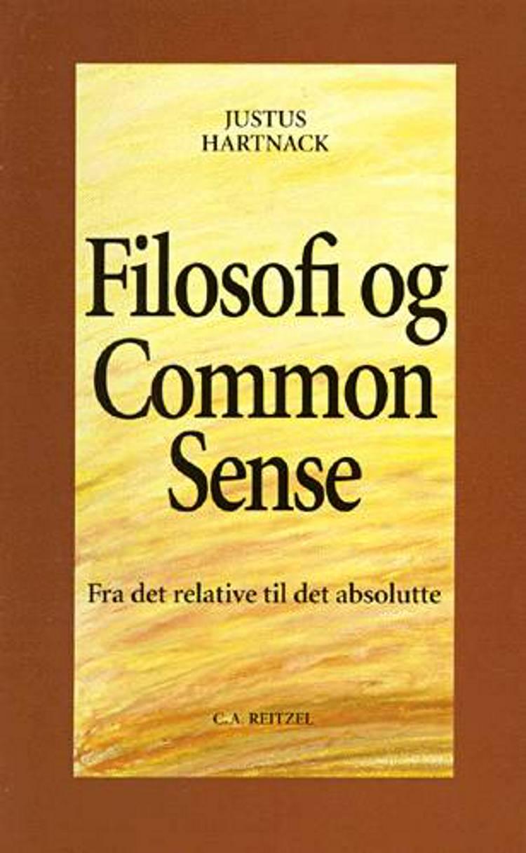 Filosofi og common sense af Justus Hartnack
