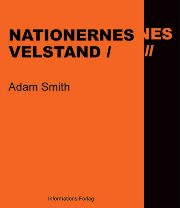 Nationernes velstand af Adam Smith