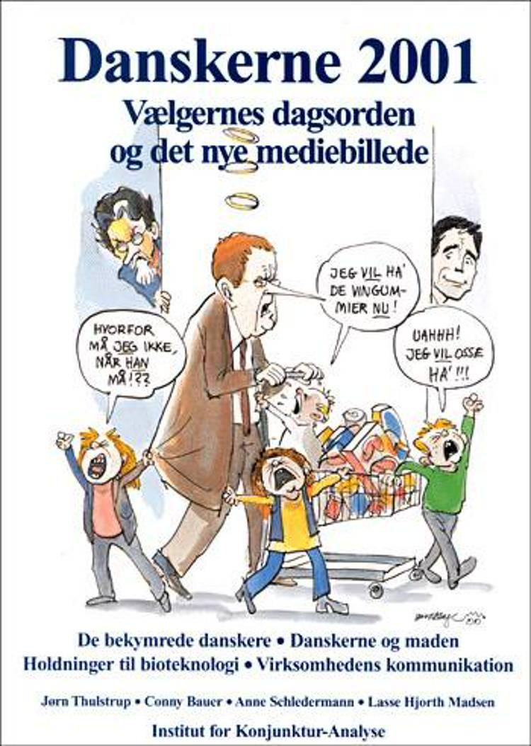 Danskerne 2001 af Conny Bauer, Jørn Thulstrup og Anne Schledermann m.fl.