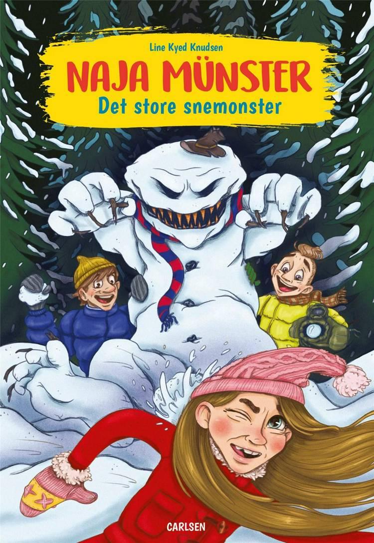 Naja Münster - Det store snemonster af Line Kyed Knudsen