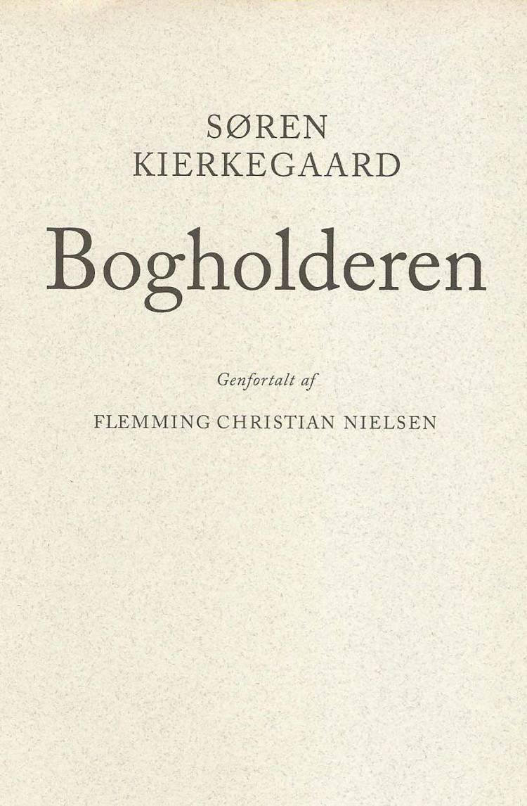 Bogholderen af Flemming Chr. Nielsen