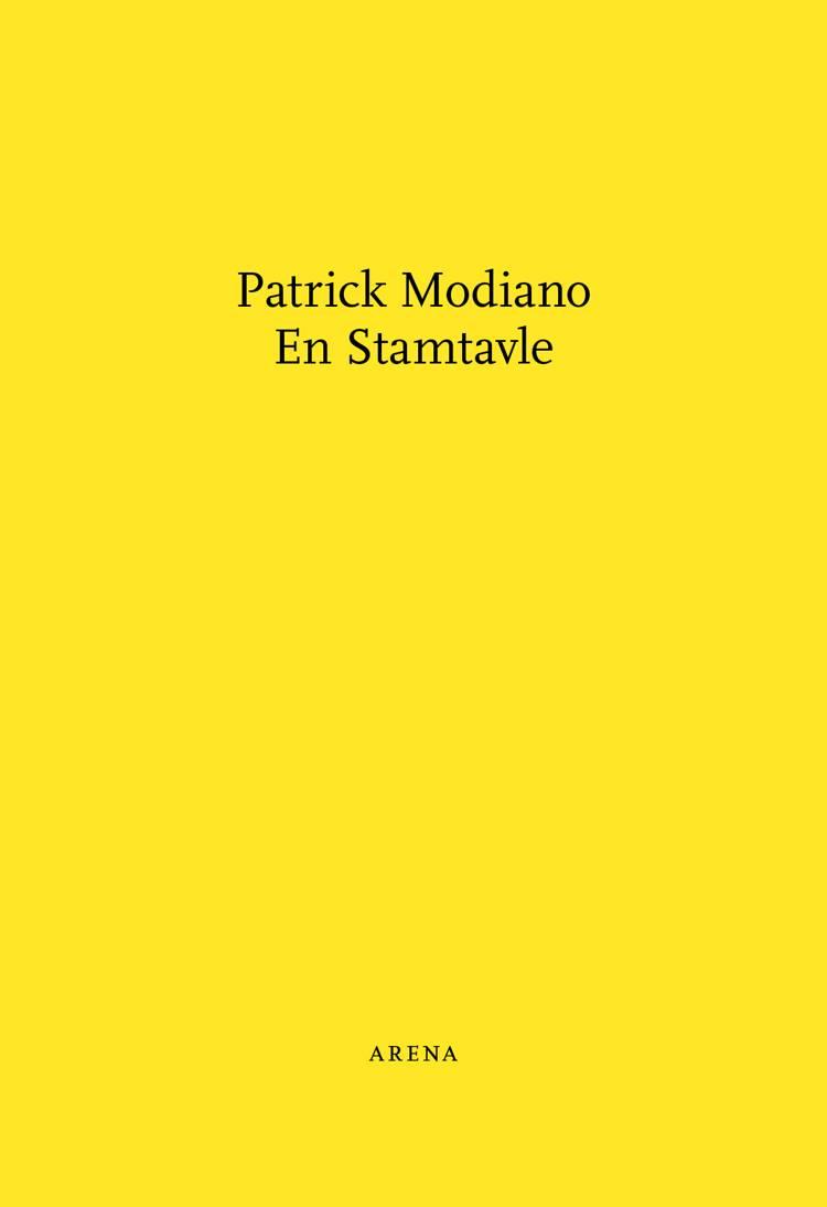 En stamtavle af Patrick Modiano og Morten Chemnitz