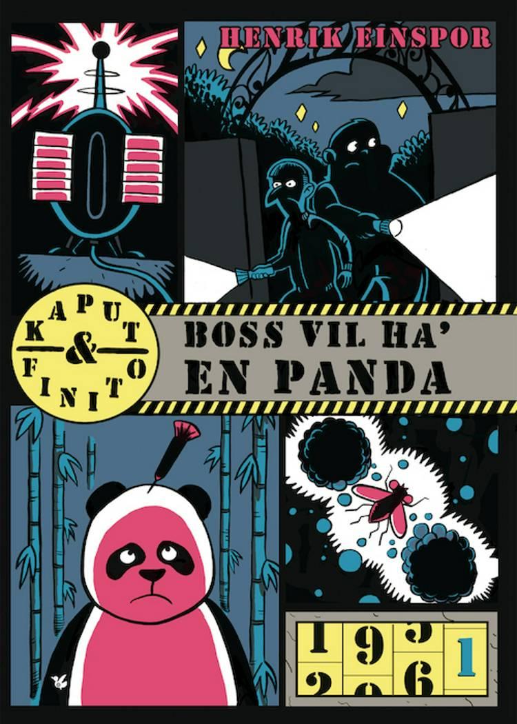 Boss vil ha' en panda af Henrik Einspor