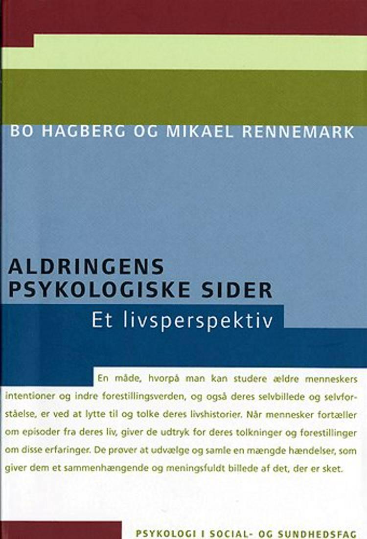 Aldringens psykologiske sider af Bo Hagberg og Mikael Rennemark