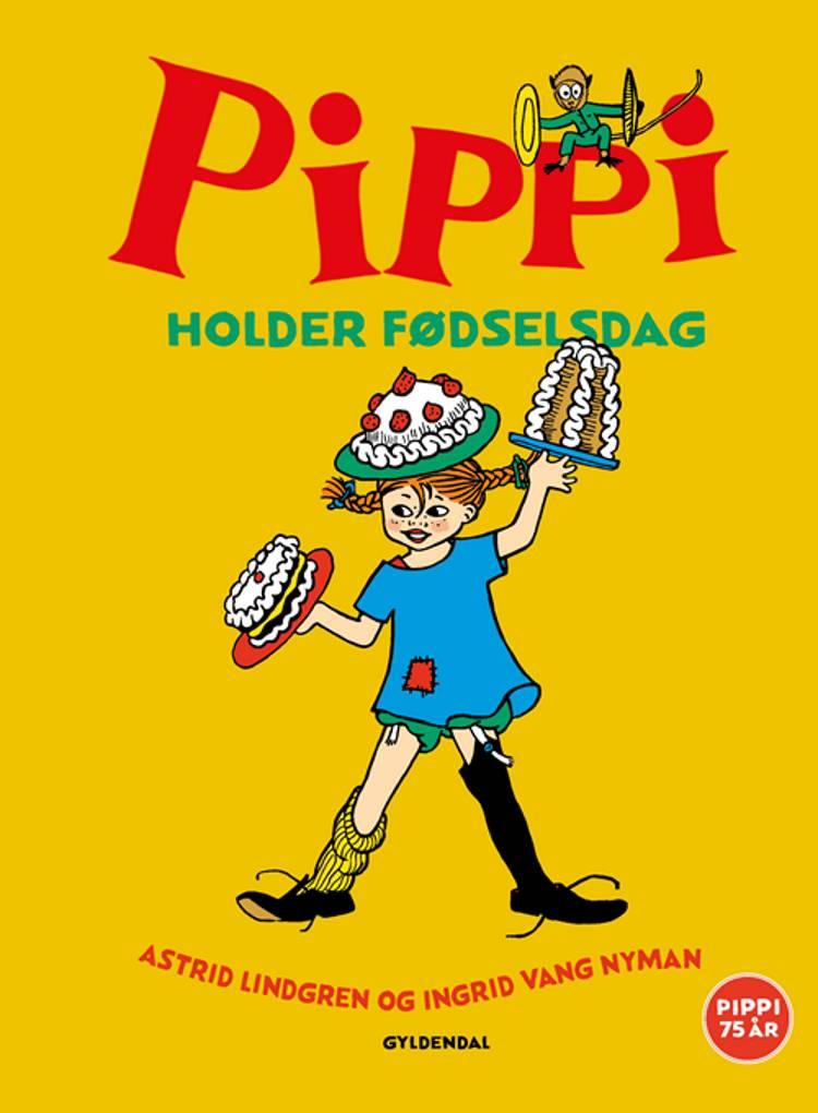 Pippi holder fødselsdag af Astrid Lindgren