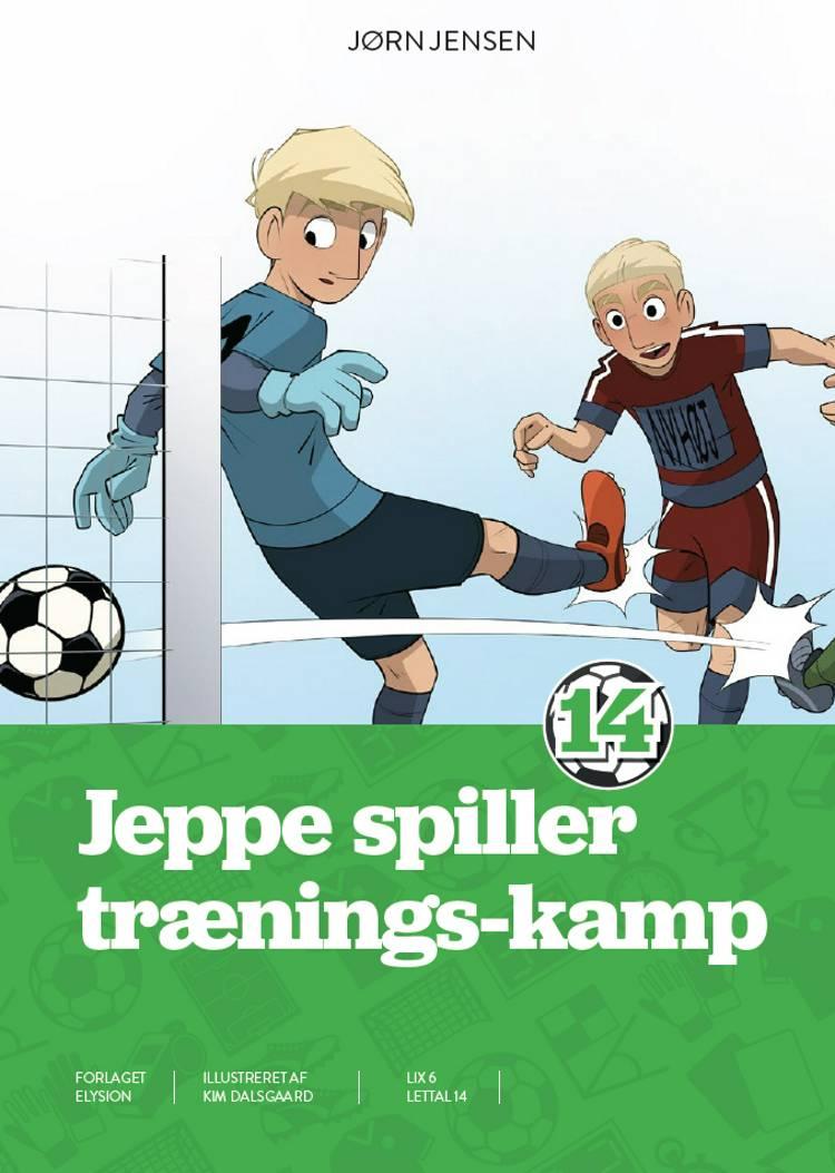 Jeppe - spiller trænings-kamp af Jørn Jensen