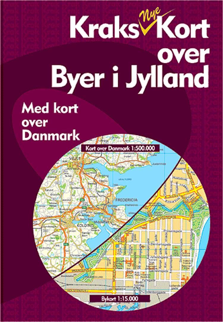 Kraks Kort over Byer i Jylland - anmeldelser og bogpriser