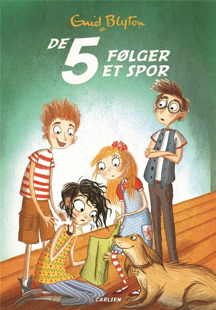 De 5 (15) - De 5 følger et spor af Enid Blyton